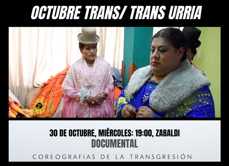 foto documental coreografía de la transgresión